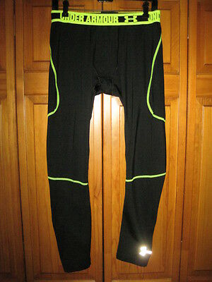 Under Armour Cold Gear Fitted tights YXL XL black long underwear insulated boys