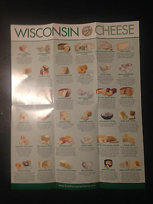"""""""'wisconsin Cheese' Official 'eat Wisconsin Cheese' Folded Poster"""""""