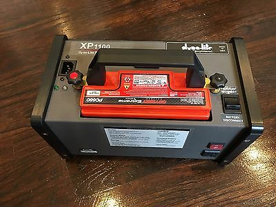 Dynalite XP1100 Portable Battery Powered Inverter W/ 2 Batt and Pelican Case!!