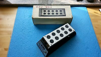 Near Mint Condition Vintage Ibanez Standard Wau Wau Wah Pedal Original Box Japan