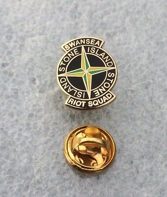 Very Rare Swanseas City  Supporter Enamel Badge  - Casuals Firm On Tour!