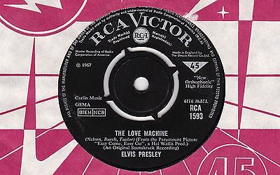 Elvis Presley The Love Machine RCA 1967 EX b/w You Gotta Stop
