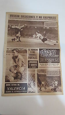 Rare Fairs cup 1966 game barcelona v dundee scotland