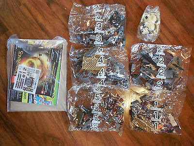 Lego Lord of the Rings The Hobbit 79010 Goblin King Battle New COMPLETE No Box