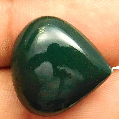 19.40 cts Natural Untreated Beautiful Bloodstone Gemstone Heart Loose Cabochon