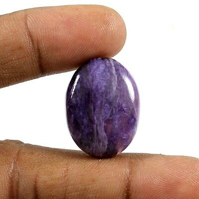 27.80 cts 100% Natural Charoite Oval Loose Classic Designer Cabochon Gemstone
