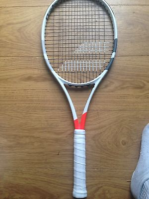 2x Babolat Pure Strike 16x19 (Project One7) Tennis Rackets Racquets Grip 3