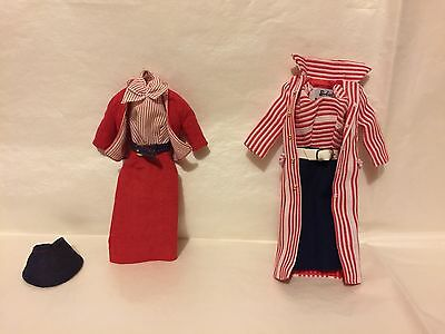 Barbie Collector Vintage Repro Roman Holiday & Busy Gal Ensembles