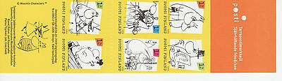 Finland 2009 MNH - Moomin cartoons - booklet of six 1st class stamps