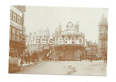 LONDON/KENT: BROMLEY: MARKET SQUARE c1920  REPRO POSTCARD