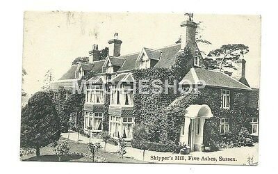 Sussex : Mayfield : Five Ashes : Skipper's Hill - Old Postcard