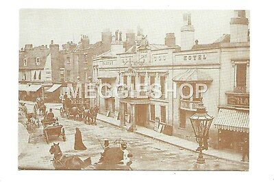 London/kent: Bromley: The Bell Inn Pub High Street Repro Postcard