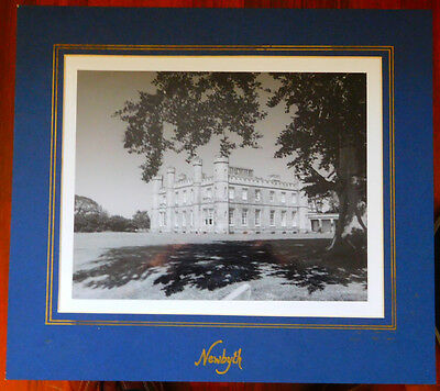 NEWBYTH HOUSE, East Lothian, photograph, 23.5 x 19 Cms in card frame