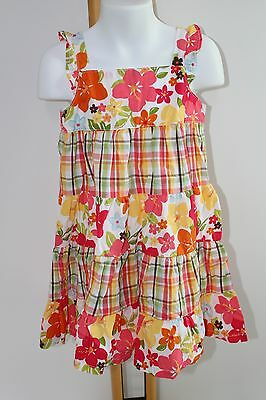 Girls' Clothing (sizes 4 & Up) Gymboree Girls Dress Sz 5 Floral Aloha Sunshine Hawaiian Sundress Spring Summer Dresses