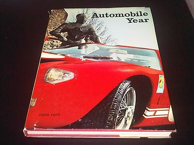 Automobile Year 14 Book 1966 67 F1 New Cars  Hardback 50th Birthday Gift?