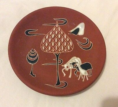 Native American Indian Pottery Plate????