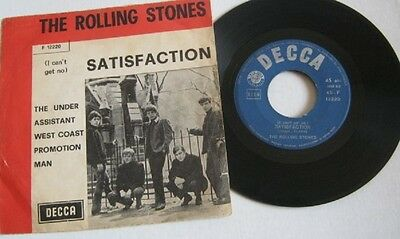 Rolling Stones- Satisfaction / The Under Assistant-F 12220  (300317)