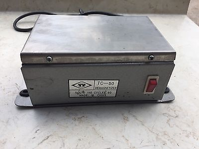 Industrial Portable Demagnetizer ~ Model TC-50 ~ Machinist Tool Maker Tapes
