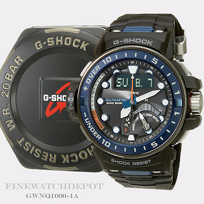 Authentic Casio G-Shock Men's Master of G Mudmaster Digital Watch GWNQ1000-1A