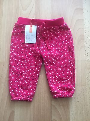 Brand New With Tags John Lewis Baby Girl Joggers Age 0-3 Months RRP £14
