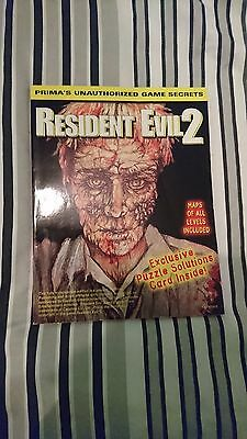 Resident Evil 2 Prima Unauthorized Strategy Guide