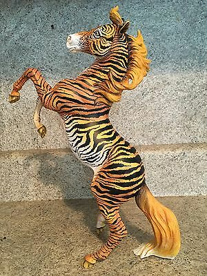 Breyer Custom Silver Painted To Tiger OOAK Traditional