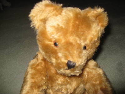 HERMANN TEDDY BEAR approx 13 inches WITH GROWLER