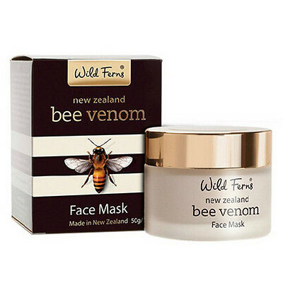 New Zealand Parrs Wild Ferns Bee Venom Face Mask 50g