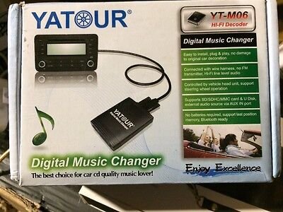 YATOUR Car Digital Music Changer USB SD MP3 For PEUGEOT / CITROEN With RD4 Radio