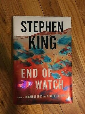The Bill Hodges Trilogy: End of Watch by Stephen King (2016, Hardcover)