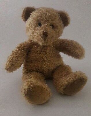 PRINCESS SOFT TOYS 1999 Tan TEDDY BEAR plush stuffed Animal toy 15""
