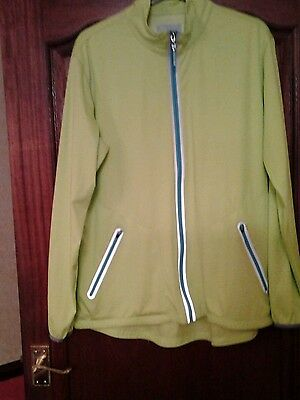 Ladies Calloway  lime green golf jacket. Size XL