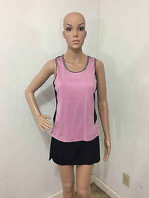 """""""Tail"""" 2 Pc Tennis Set Top Med Skirt Small with Built In Compression Shorts EUC!"""