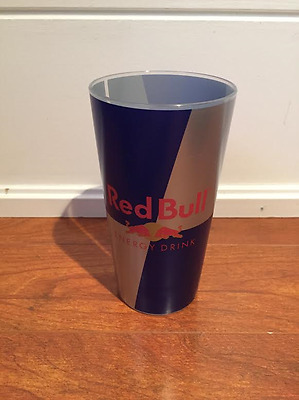 Red Bull hard plastic cup **RARE**
