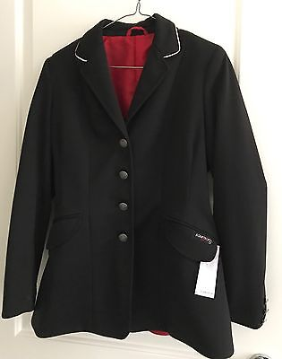 New Equetech Pro Riding jacket Size 8-10 Rrp $399