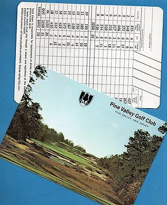 3 Unused Vintage Scorecards (mint) from a 1970's-80's Collection