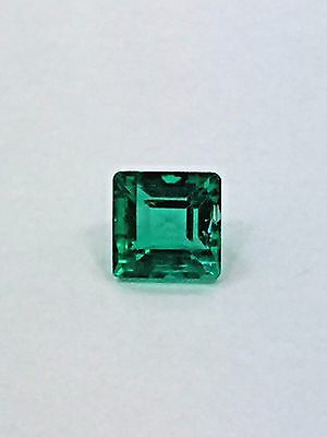 Emerald from Colombia GIA cert 1.60 cts Gem Quality extra good color and clarity