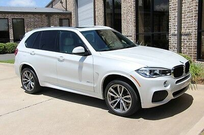 2014 BMW X5 xDrive35i Sport Utility 4-Door Mineral White M Sport Premium Driving Assistance Package HK 20 Inch Wheels More!