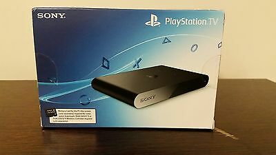 Sony PlayStation TV Black 1 GB Console (New & Sealed)