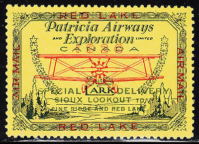 Canada 1926 Patricia Airways, Scott CL13, VF MNH (note), catalogue - $105
