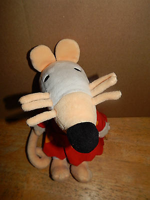 Crocodile Creek Maisy Mouse Plush   RARE