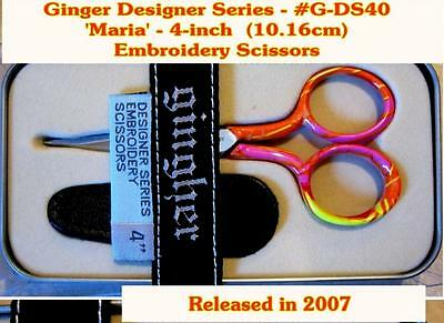 Gingher Designer Scissors - Embroidery - Maria
