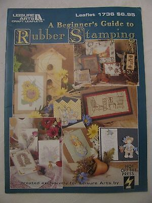 Leisure Arts A Beginner's Guide to Rubber Stamping #1736