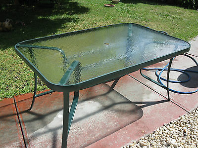 Outdoor Table Seats 6 Good Size Chairs Very Good Condition See Photos
