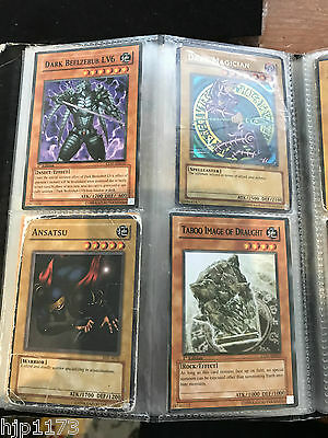 Bulk Lot Old Yu Gi Oh Cards Approx 156