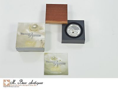 Treasures Of Australia - Pearls - 1 OZ. Silver Proof Coin *XE17