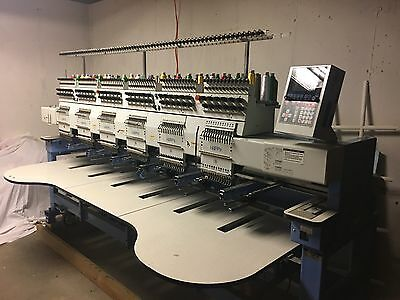 HAPPY Brand Embroidery Machine, 6-head, EXCELLENT CONDITION