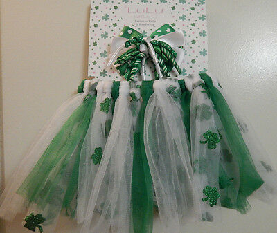 St. Patrick's Day  Tutu and Headband  Ages 3+, Free Shipping & Free Gift