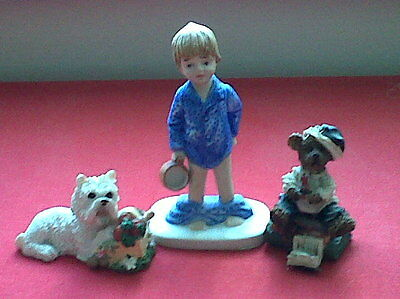 Vintage Cheeky Chappy & Friends Ceramic Figures
