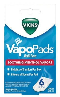 Vicks VapoPads for Humidifiers and Inhalers - Choose Your Quantity Vicks